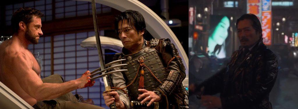 Hiroyuki Sanada w filmie The Wolverine
