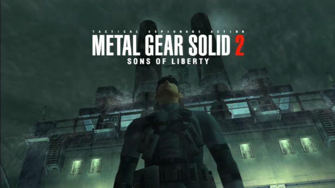 Metal Gear Solid 2 gametalks