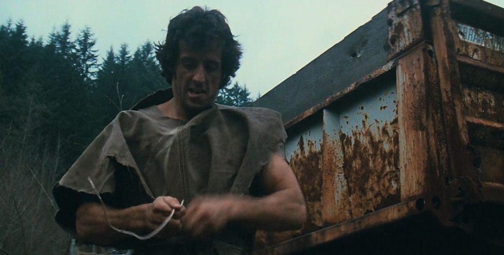 Rambo pierwsza krew płachta