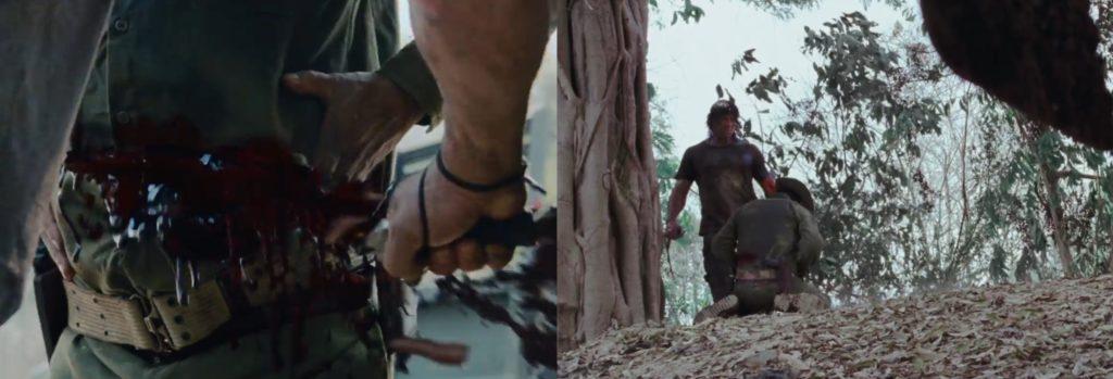 Rambo wybebeszenie