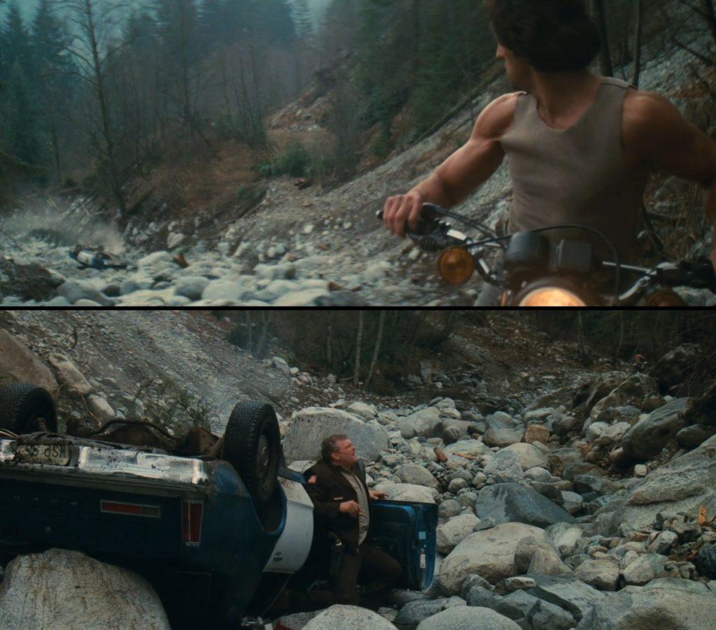 Rambo wypadek