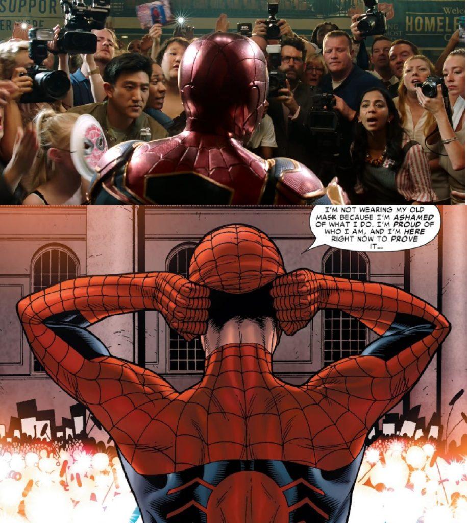 Spiderman ujawnia tożsamość