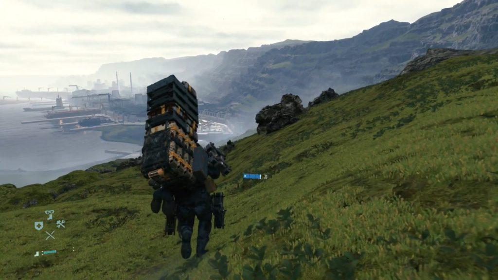 krajobraz w death stranding