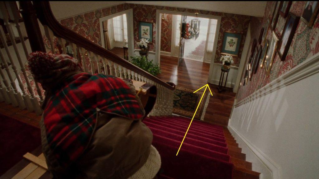 Kevin sam w domu sanki