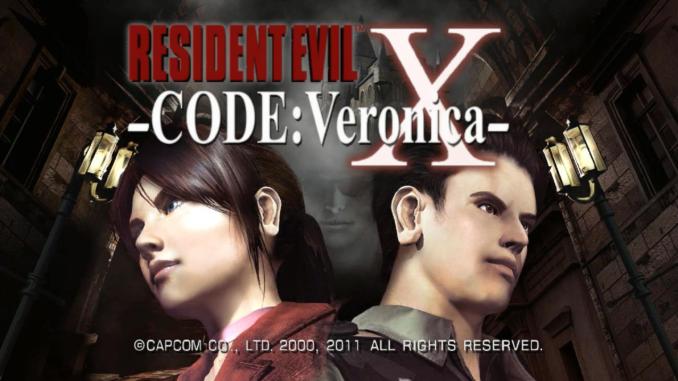 Code Veronica ekran start