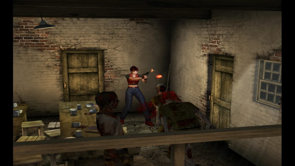 Resident evil Code Veronica gra