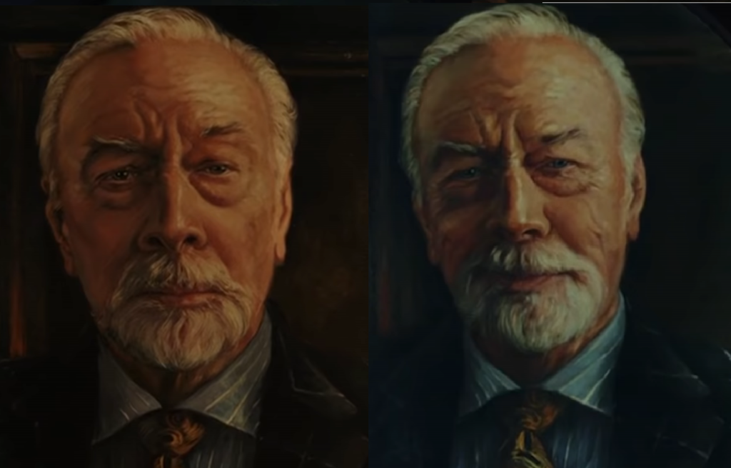 Na noże portret