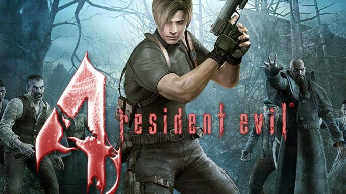 Resident evil 4 plakat