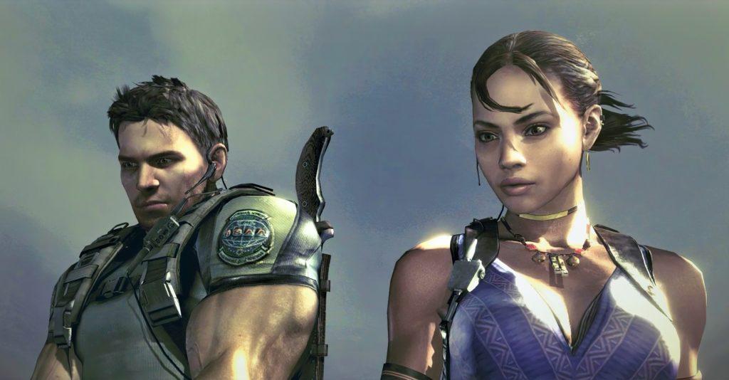 Resident Evil 5 Chris i Sheva