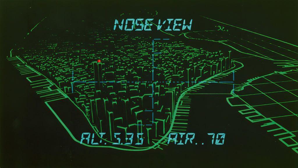 Ucieczka z nowego jorku - animacja komuteorwa