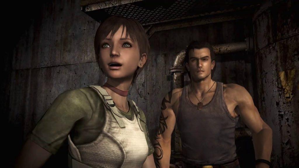 Rebecca i Billy resident evil 0