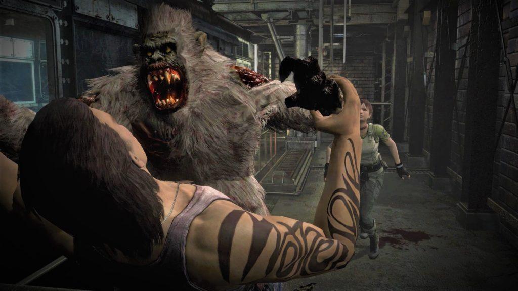 Resident evil 0 małpa