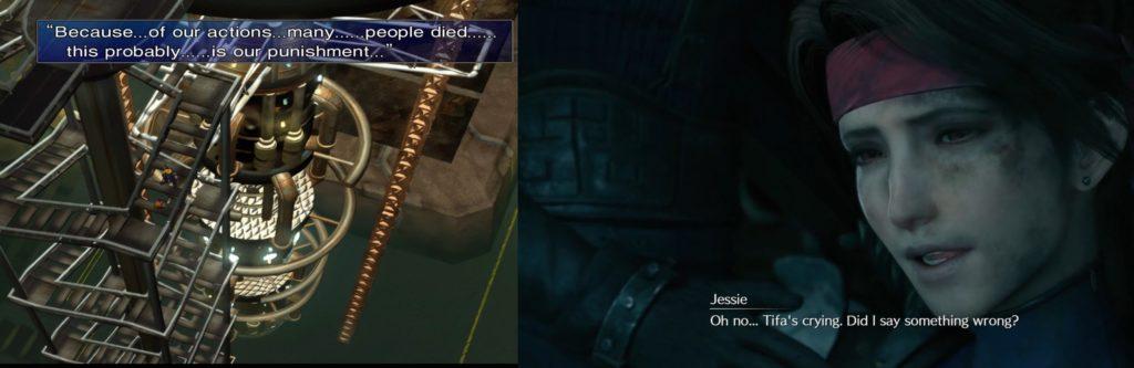 Final_Fantasy 7 śmierć Jessie