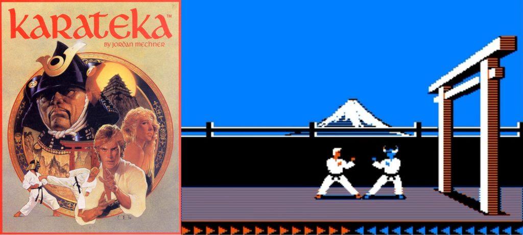 Karateka na apple 2