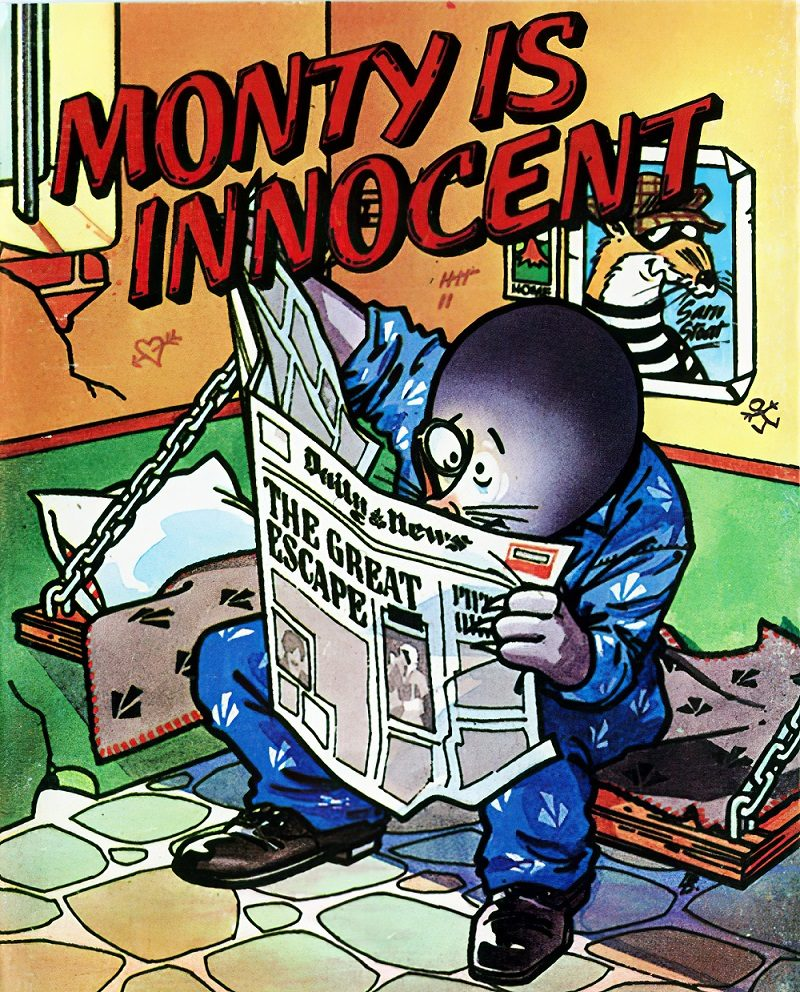 Monty is innocent gra