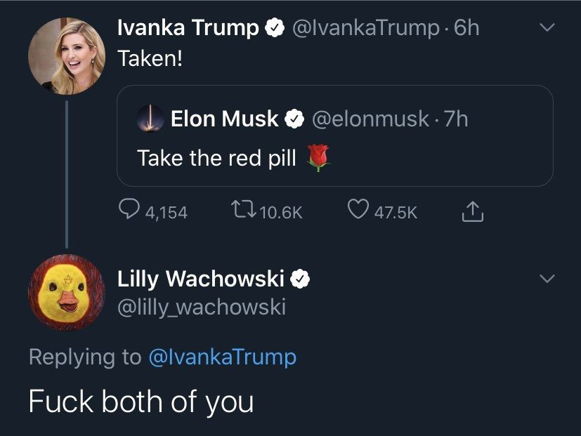 Elon musk weź czerowoną tabletkę