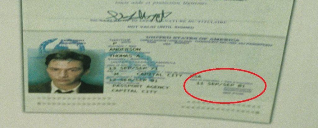 Paszport Neo Matrix
