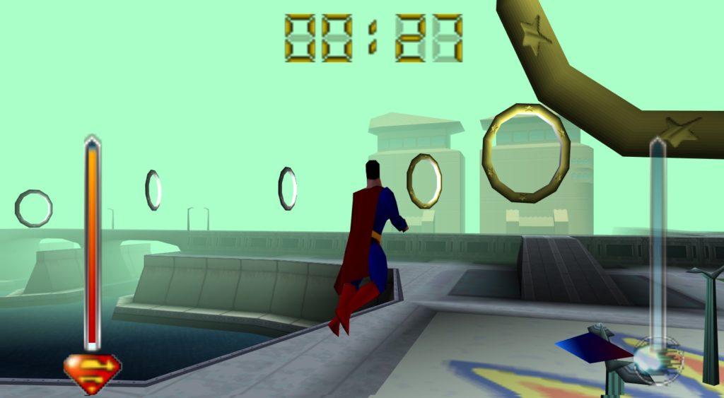 Superman 64 na emulatorze