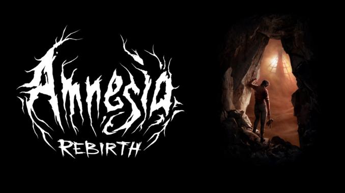 Amnesia rebirth plakat