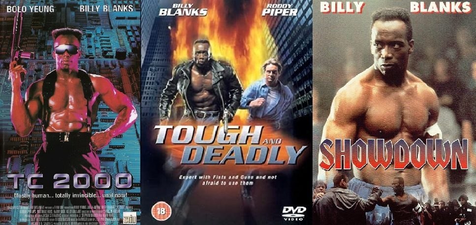 Billy Blanks Filmy