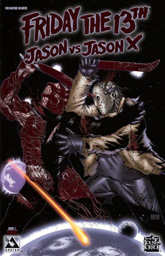 Jason X komiks