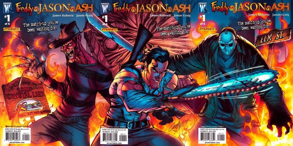 Freddie kontra Jason kontra Ash