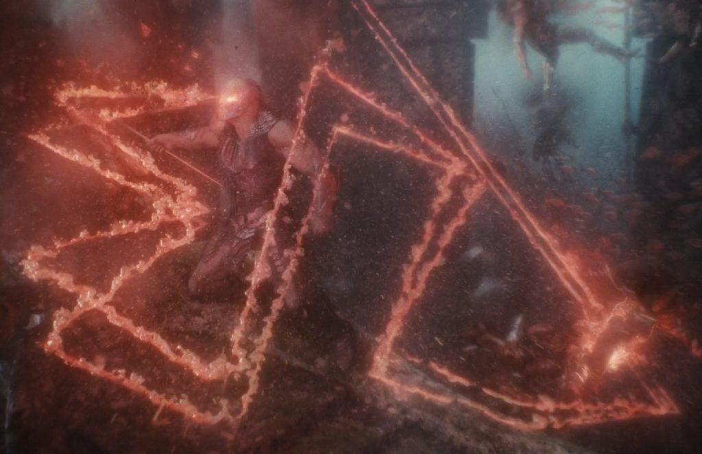Darkseid zabija aquamana