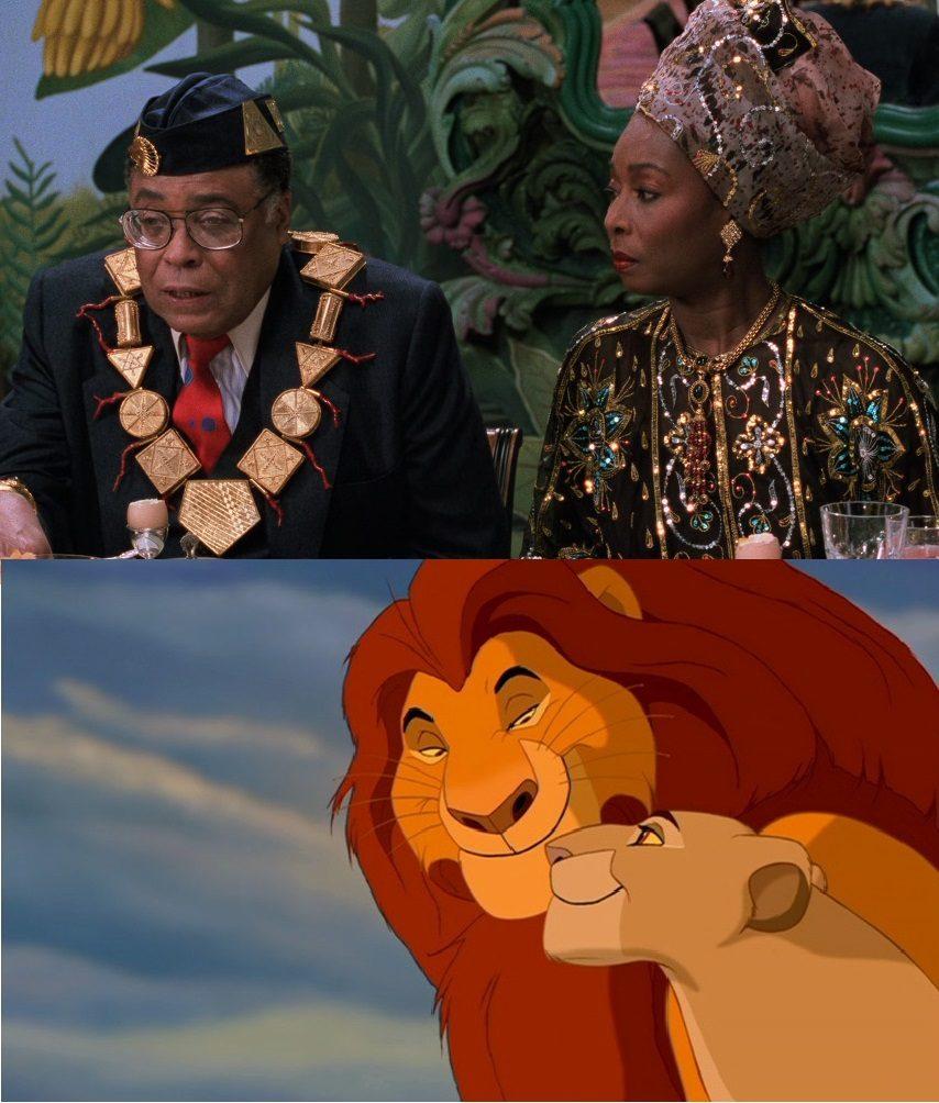 Król lew książę w nowym jorku