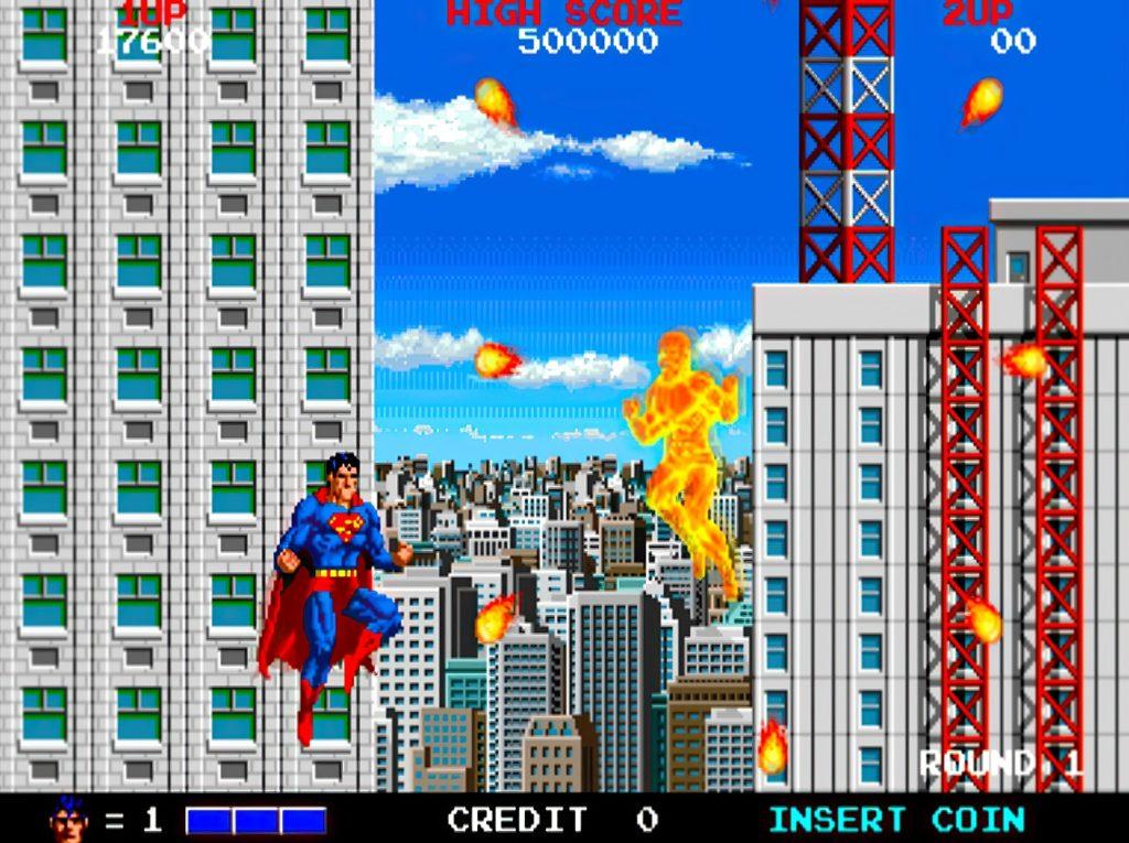 Superman arcade 1987