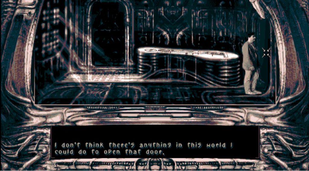 Darkseed zamknięte drzwi